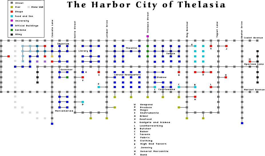 The Harbor City of Thelasia